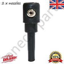 2x Rear Windscreen Washer Jet Nozzles For VW Golf MK4, MK5, MK6, 1997 to 2013