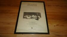 THE SOUND from the lions mouth-framed original poster sized advert