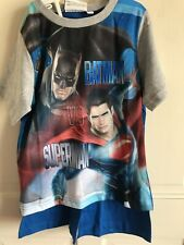 BNWT Disney - Spiderman / Batman T-Shirt & Shorts Pj Set. Boys. Age 7-8 Years.