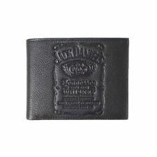 Jack Daniel's Impression en Creux Logo Noir Bi-Pliable Portefeuille