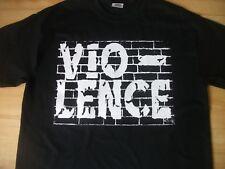 Violence t-shirt,thrash metal,machine head.slayer,exodus,metallica,anthrax