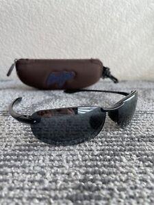 Maui Jim Sunglasses MJ-405-02 Makaha 64-15-130 Polarized Japan W/ Case
