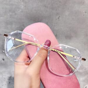 Anti Blue Light Blocking Filter Reduces Digital Eye Strain Clear Pc Glasses UK