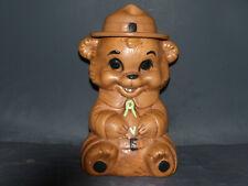 Twin Winton Ranger Bear Cookie Jar