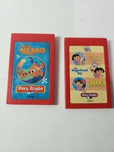 Story Reader Dora Nemo Learning Toy System Cartridges Only