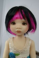 Monique Miko Wig Pixie Pink Size 6-7 YoSd Bjd shown on My Meadow Avery