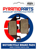 Rear brake pads for Kawasaki GPX250 1986