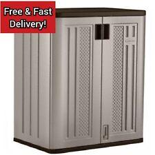 Outdoor Storage Cabinet Utility Base Box Yard Garden Patio Tool Shed Garage Deck
