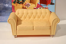 My Scene Chelsea Getting Ready Couch Sofa Chair 1/6 Furniture Barbie Diorama Set