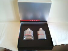 Prada Luna Rossa Gift Set 2PCS Men's Perfume Fragrance Brand New