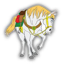 Rapunzel Cartoon Horse Sticker Bumper Decal - ''SIZES''