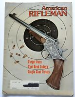 American Rifleman Magazine November 1979 American Single Shot Target Pistols
