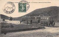 CPA 63 LE TRAMWAY AU SOMMET DU PUY DE DOME (TRAIN