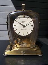 Schatz Lectronic Tischuhr Magnet Pendel Uhrwerk Magnetpendel Messing Kaminuhr
