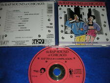 CD RAP TRAX 1 the SOUND of CHICAGO 10 titres 1989 usa