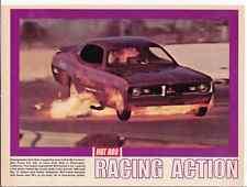 1971 DODGE DEMON FUNNY CAR / BOB MCFARLAND ~ ORIG MAGAZINE PHOTO / PICTURE / AD