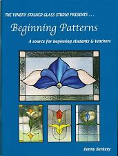 Beginning Patterns Stained Glass Book, Elegant, Floral, Traditional, Abstract