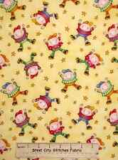 Story Time Rhymes Yellow Humpty Dumpty Character Henry Glass Cotton Fabric YARD
