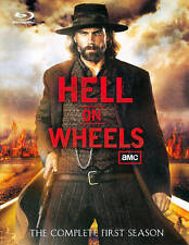 Hell on Wheels: The Complete First Season 1 (Blu-ray Disc, 2012, 3-Disc Set) NEW