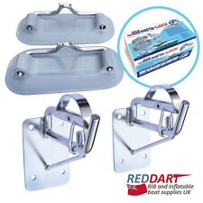 Snap Davits for Inflatable Dinghy Insta-Lock Transom Mount