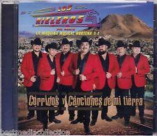 SEALED Los Rieleros Del Norte CD Corridos Canciones De Mi Tierra NUEVO Ship NOW