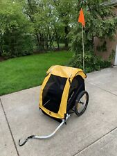 Burley Bee Bike Trailer for 2 with Flag- Excellent condition.