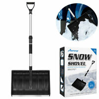 Snow Shovel Strain-Reducing Labor-Saving Assisted Adjustable Handle For Outdoor