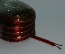 10m Meter 2 X 2mm Thick Loud Oxygen Free Speaker Wire Cable Super High Quality