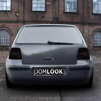 VW Golf 4 1J schwarze LED Rückleuchten Heckleuchten Rücklichter Set SCHWARZ