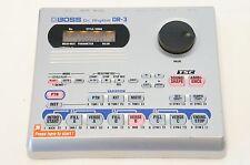 BOSS DR-3 Dr. Rhythm Drum Machine Bass Synth Roland World Ship