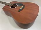 Martin D-10E Sapele Superior Natural Completo-Masivo Guitarra Western Pastilla for sale
