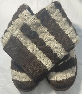Women's UGG Stripe Sweater Boots Size 7 FREE SHIPPING