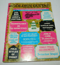 NEAT OLDER PREOWNED GOLDEN GUITAR INSTRUCTION ALBUM SONG BOOK