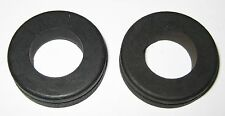 """2 X Rubber Grommet Fits 1"""" Diameter Hole and 1/16"""" Thick Panel - 1 3/8"""" OD - 3/4"""