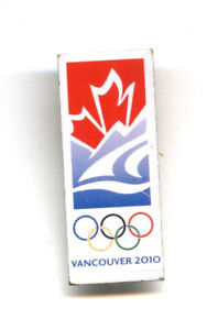 Vancouver 2010 Winter Olympic Games candidate bid city logo pin