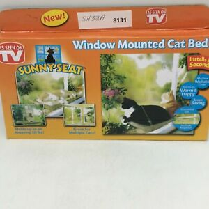 """Sunny Seat Window Mounted Durable Hammock 50 Lbs Resting Cat Bed 22""""X12"""""""