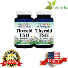 BIRCH CELERY SEED SCHIZANDRA BERRY 900mg SUPPORT THYROID TSH LEVELS 180 CAPSULES