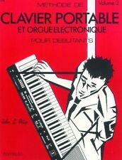 Partition clavier - John L Philip - Méthode de clavier portable pour débutant