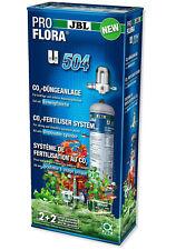 JBL u504 Aquarium CO2 Einweg-Düngeanlage Komplettset mit 500 g Flasche + Dünger