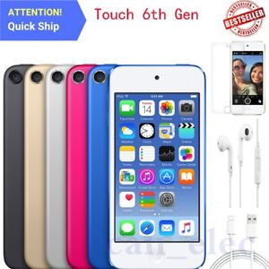 New Apple iPod touch 6th Generation 16GB 32GB 64GB 128GB All Color Free Shipping