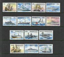 Barbados - Ships Set of 14 - MNH - 1994