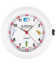 Medical Symbols Stethoscope Watch, White  1 ea