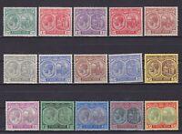 ST. KITTS - NEVIS 1903, SG# 37-47c, CV £130, Part set, MH