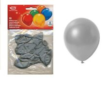 Everts globos plata 10 unid.