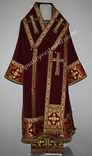 Orthodox Bishop Vestments Metallic Brocade Red or any colors