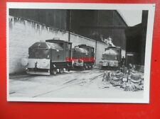 POSTCARD SENTINAL LOCOS ROBIN RANALD & DENNIS AT TENNENTS WHIFFLET FOUNDRY 1980