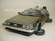 SUN STAR 2710 BACK TO THE FUTURE TIME MACHINE DELOREAN 1/18 PART 2 II