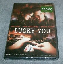 LUCKY YOU (2007 Lonely Film Productions DVD) Eric Bana, Drew Barrymore Robert Du