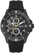Nautica multifunzionale   Black Uomo Orologio Cronografo   NAI13504G   RRP £ 250