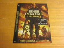 Joe Manganiello Actor Autographed 6X7.5 DVD Cover Behind Enemy Lines Colombia